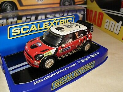 Scalextric C3301 Mini Countryman WRC 'Weathered Version' - Brand New In Box • 42.99£