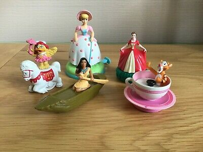 MCDONALDS TOYS X 5 - ALL FULLY WORKING MOVING MODELS • 3£