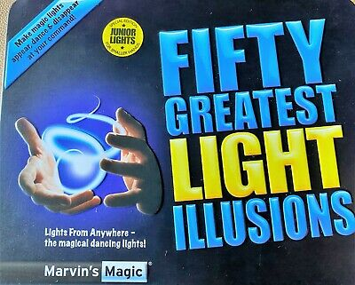Marvins Magic - Fifty Greatest Light Illusions • 7.99£