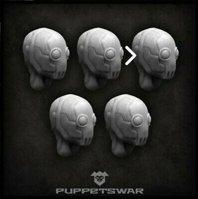 6 X Female  Spectre  Resin Heads Bits Bitz Warhammer 40k Inquisitor Kill Team • 3.99£