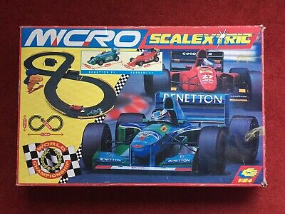 Micro Scalextric G.094 World Championship ~ Needs Attention Or For Parts • 5£