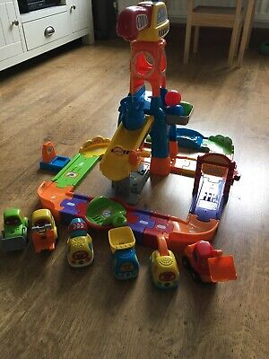 Vtech Toot Too Drivers Construction Site + 6 Vehicles 🚗🚜 • 10£