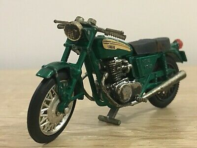 Vintage Scale Model Diecast Yamaha OHC 750 Motorcycle Hong Kong • 15£