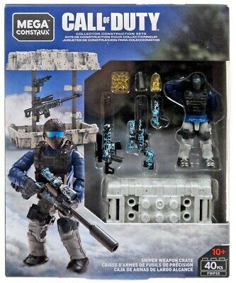 Mega Construx Call Of Duty Sniper Weapon Crate • 23.99£