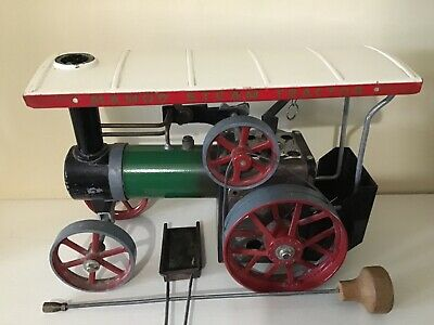 Mamod Steam Traction Engine Tractor TE1A  With Box. • 50£