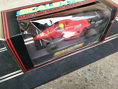 Scalextric C457 Ferrari F1 Slot Car 28 Rare Boxed • 7.60£