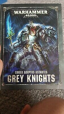 Warhammer 40k Grey Knights Codex 8th Edition • 16£
