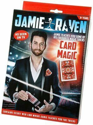 Card Magic, Incredible Card Tricks By Jamie Raven.  Brand New.  Age 8+ • 5.90£