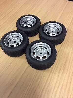 1/10 Scale Off Road Wheels With Tyres Rc Car Or Truck • 3£