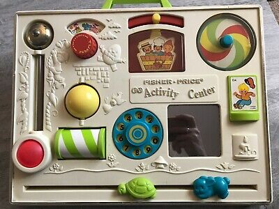 Vintage Fisher Price Activity Centre • 10£