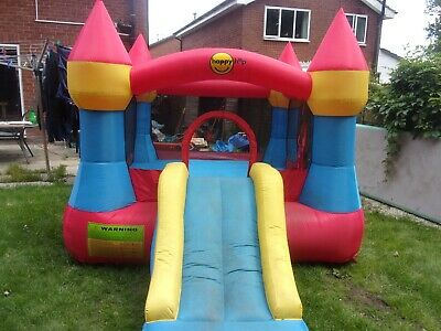 Happy Hop Bouncy Castle With Slide, Used • 36£