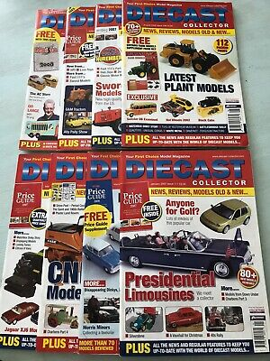 Diecast Collector Magazines • 8£