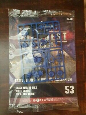 Warhammer 40,000 Conquest Magazine Issue 53 - Space Marine Bike • 7.99£