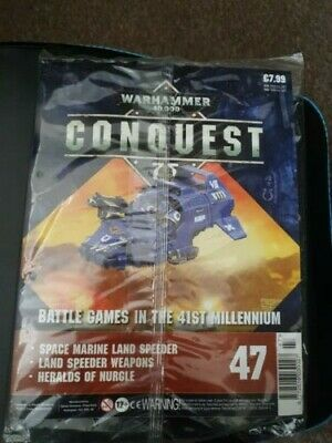 Warhammer 40,000 Conquest Magazine Issue 47 - Space Marine Land Speeder • 12£
