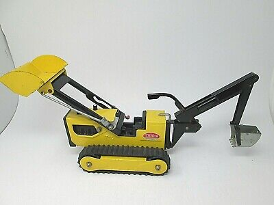 TONKA Toy T6 Digger/Excavator In Yellow Die Cast  D3 • 5£