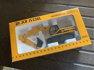 Construction Diecast JCB JS330L Tracked Excavator 1:35. Perfect Condition. • 18£