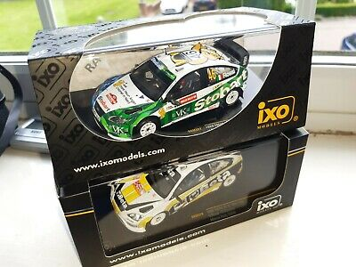 Valentino Rossi Ford Focus WRC Rally Car X 2 • 19.99£