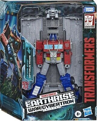 Transformers Optimus Prime Earthrise WFC Leader Class Action Figure Toy Hasbro • 47.49£