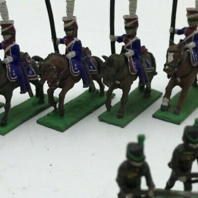 Napoleonic Lead Soldiers From Waterloo Era • 55£
