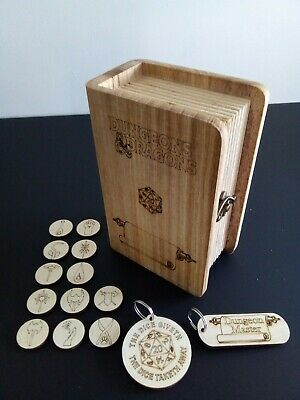 DnD D&D Dungeons And Dragons, Book Box, Name Added, Full Set.  • 15.99£