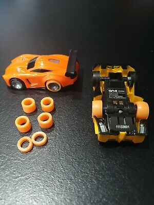 4 Rubber Rings To Replace Anki Overdrive Tyres, Orange Wonders!! • 4.69£