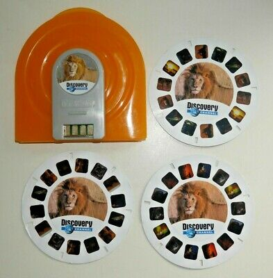 Discovery Channel Exploring Africa Viewmaster Reels 2008 Fisher Price Rare  H532 • 9.95£
