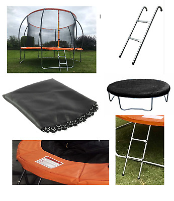 Trampoline Spare Parts Replacement Springs Padding Ladder Jump Mat Rain Cover • 39.99£