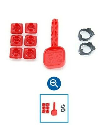 Bruder 43904, Container Mounting Clips And Key.  • 3.75£