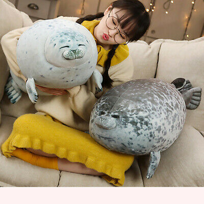 Fat Spotted Pillow Cotton Plush Animal Pillow Plush Toy Seal Cute Marine Pillow • 6.89£