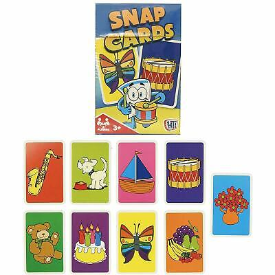 Traditional Snap Cards Kids Family Game Playing Cards Loot Bag Party Toy  • 1.49£