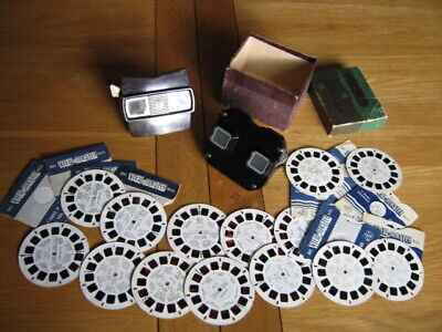 Vintage View Masters Made In USA By Sawyer's With Reels- Dr Who -Superman Etc... • 16£