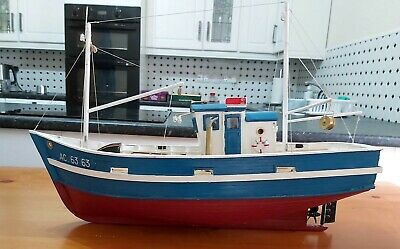 New Maquettes Le Patrick RC Sardine Fishing Boat (Ready Built) • 150£