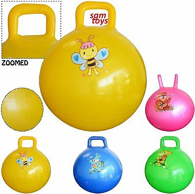 15  Childrens/Kids Space Hopper Jump N' Bounce Ball Bouncing Toy In 50cm • 2.99£