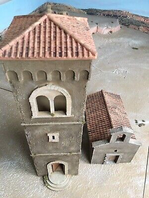 Napoleonic Wargaming Church Tower And Building 25/28mm. Charlie Foxtrot Models • 20£