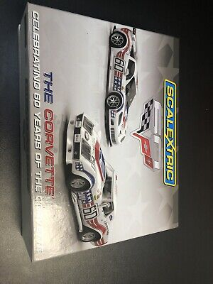 Scalextric C3368A Corvette Limited Edition 60 Years 561/3000 Mint Boxed. • 70£