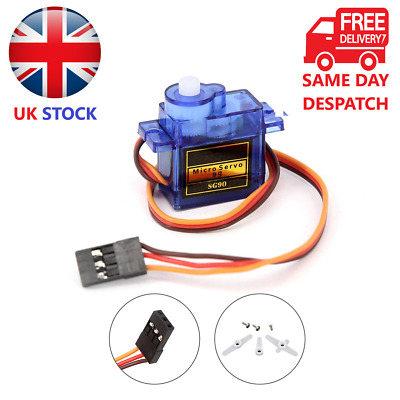 Micro Servo 9G SG90 4 Plane, Boats, Helicopters, Cars, Robotics, All RC Vehicles • 19.99£