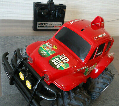 Nikko RED BUG    Radio / Remote Controlled     Off - Road Vehicle   RARE Model • 19.75£