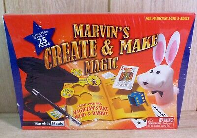 Marvin's Magic Create And Make Magic Set - New & Sealed • 10.95£