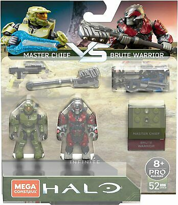 Mega Construx Halo Master Chief Vs Brute Warrior, Conflict Pack. • 21.95£