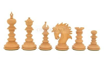 Combo Of St. Petersburg Luxury Chess Set With Wooden Board In Ebony Wood 4.2  • 827.62£