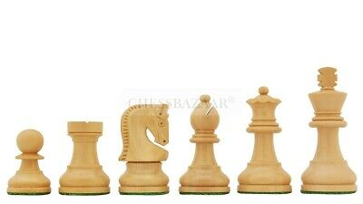 Traditional Russian Zagreb Chess Set In Ebonized Boxwood & Natural Boxwood 2.5  • 68.39£