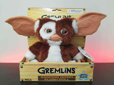 NECA Gizmo Gremlins Singing & Dancing Toy Plush With Sound Mogwai Soft Official  • 37.99£