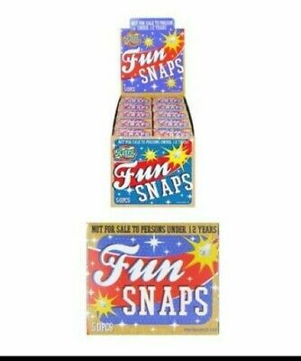 Fun Snaps Throw Bangers Party Bag Fillers Jokes Pranks • 1.99£