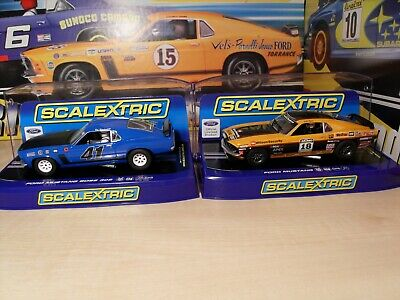 2x Scalextric DPR - C3613 & C3671 Ford Mustangs - Brand New In Boxes. • 79.95£