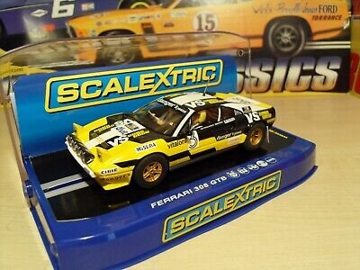 Scalextric C2974 Ferrari 308 GTB Rally Car - Brand New In Box • 64.99£