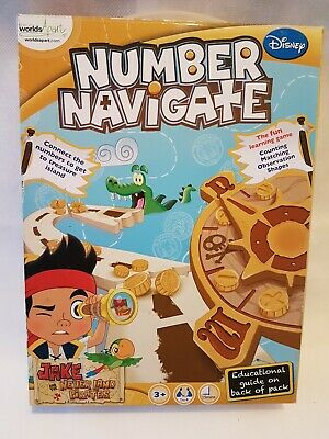 Number Navigate Jake And The Never Land Pirates  Game  • 9.99£