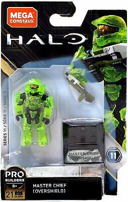 Mega Construx Halo Series 11 MASTER CHIEF (OVERSHIELD) New In Pack • 18.99£