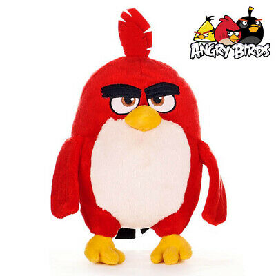 Red Angry Birds The Movie Official Mobile Video Game 10 Inch 25cm Plush Soft Toy • 11.99£