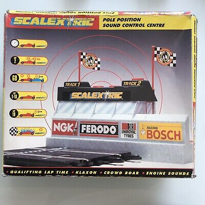 Scalextric Pole Position Sound Control Centre C8002 Toy Boxed • 17.99£
