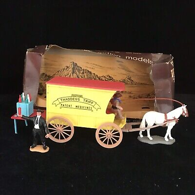 Timpo Wild West TRAVELLING DOCTOR Boxed 1970's RARE Vintage Cowboy Wild West Toy • 119.99£
